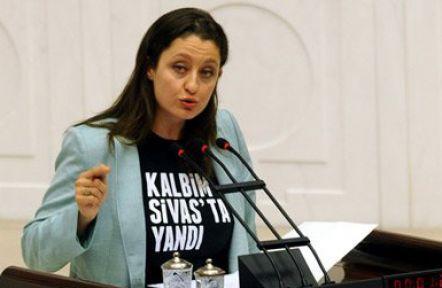 Şafak Pavey: Kalbim Sivas'ta yandı