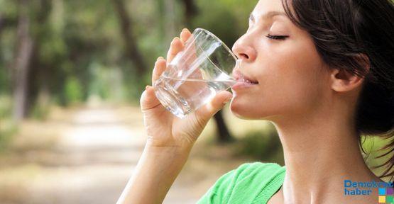 Sağlık için bol su için!