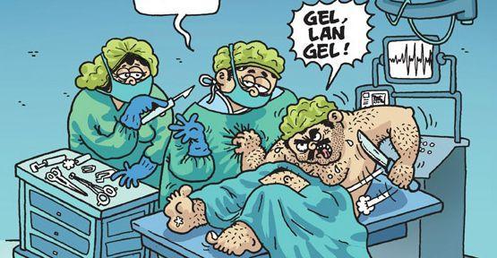 Sağlıkçılara saldırılar Penguen'de