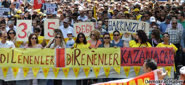 Sahtekarlığa karşı Ankara yürüyüşü
