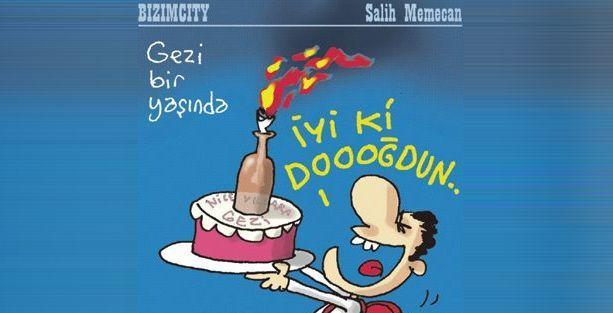 Salih Memecan'dan tepki çekecek bir karikatür daha!