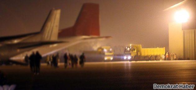 Şam'a giden uçak Ankara'da indirildi