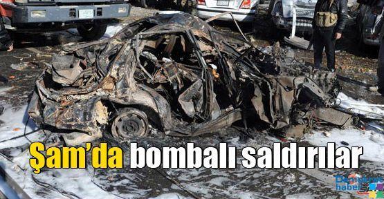 Şam'da bombalı saldırılar