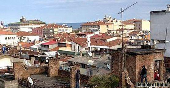 Samsun'da 5 gün önceden bildiri dağıtılmış
