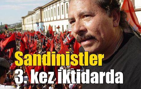 Sandinistler 3. kez iktidarda