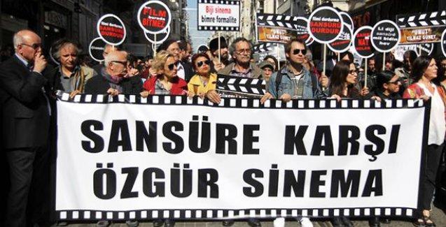 'Sansüre karşı özgür sinema' yürüyüşü