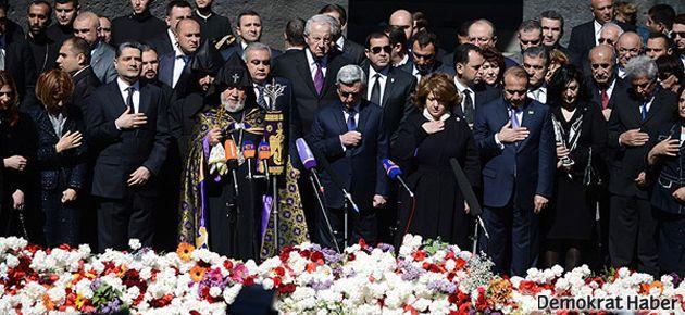 Sarkisyan: İnsanlık suçunu inkar bu suçu işlemek kadar kötü
