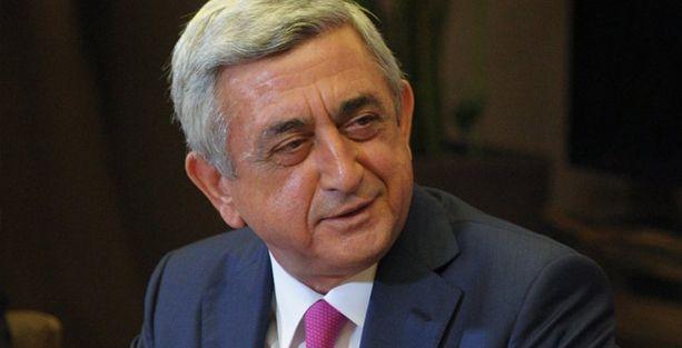Sarkisyan Tayyip Erdoğan'ı kutladı