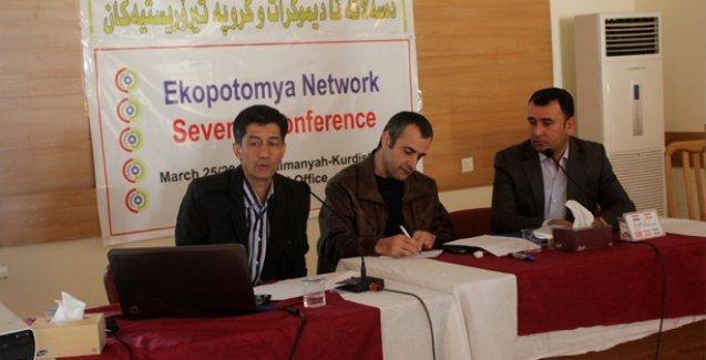 Savaşın yanı başında ekoloji konferansı