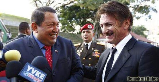 Sean Penn'den Chavez'in kampanyasına destek
