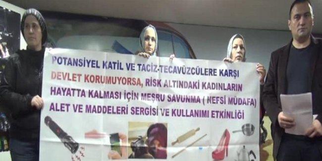 Şefkat-Der'den özsavunma için kadınlara silahlı atış eğitimi