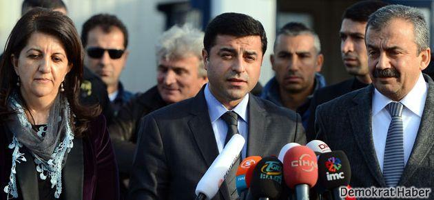 Selahattin Demirtaş ve Sırrı Süreyya Önder Erbil'de