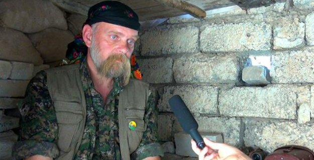 Şengal direnişinde bir Alman savaşçı: 50 yaşındaki Piling Kal
