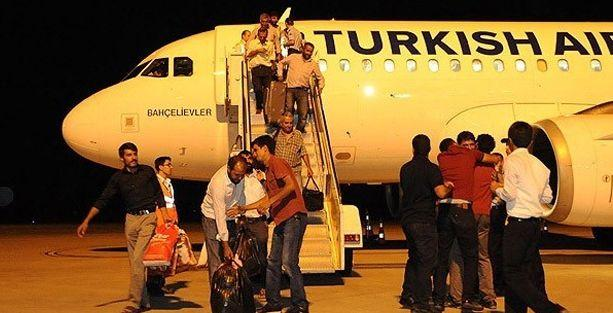 Serbest kalan 32 TIR şoförü Türkiye'de