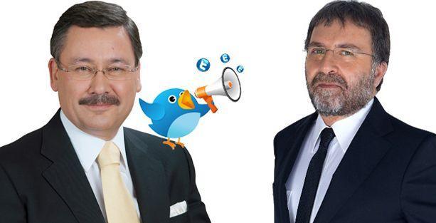 'Sevgilisiyle yakalanan' Ahmet Hakan, Gökçek'in diline düştü