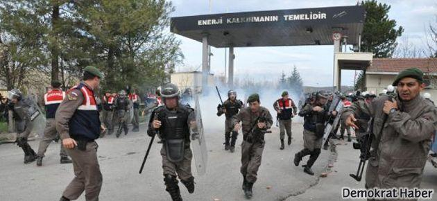 Seyitömer'de işten çıkarılan işçilerin isyanı