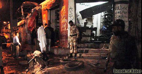 Şii camiine bombalı saldırı: 13 ölü!
