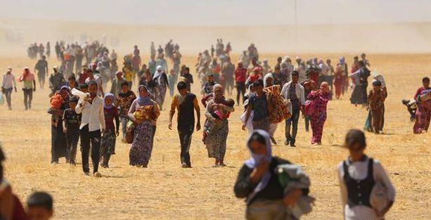 'Silaha evet, mülteciye hayır'