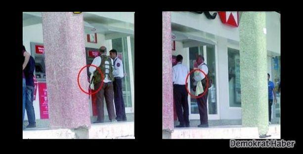 'Silahlı Suriyeli muhalif ATM'den para çekiyor' iddiası