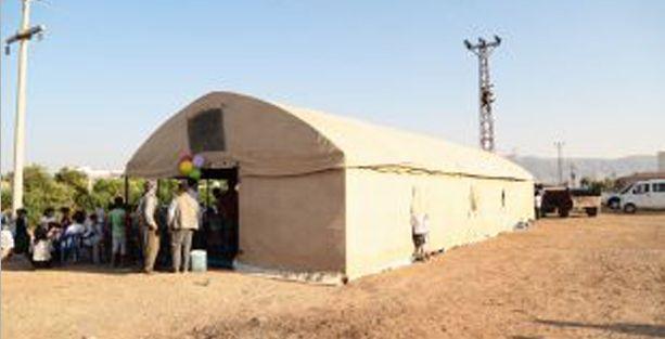 Silopi'de IŞİD katliamlarına karşı 'direniş çadırı' kuruldu