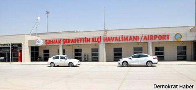 Şırnak Havalimanı'na 'Şerafettin Elçi' ismi asıldı