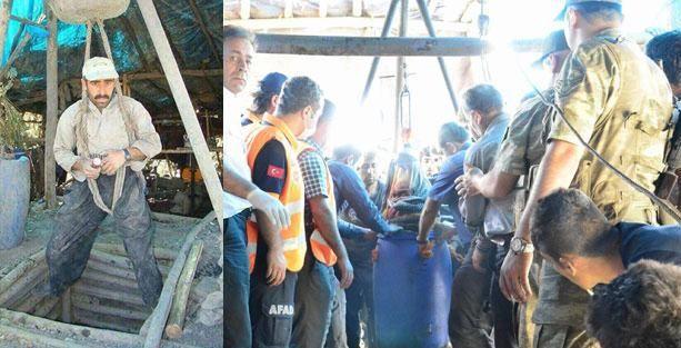 Şırnaklı madenciler baretsiz, maskesiz çalışıyor 200 metreye iplerle iniyor!