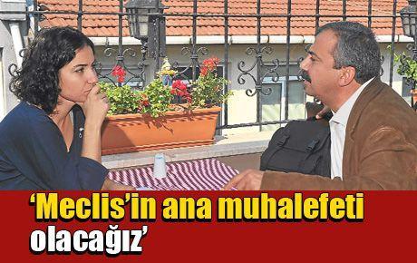 Sırrı Süreyya: Meclis'in ana muhalefeti olacağız