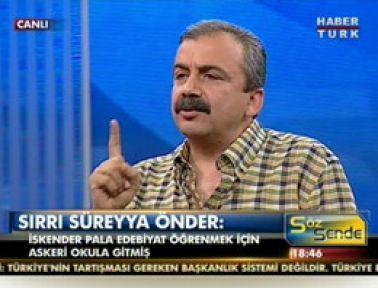 Sırrı Süreyya, Erdoğan'ı Kemalist ilan etti