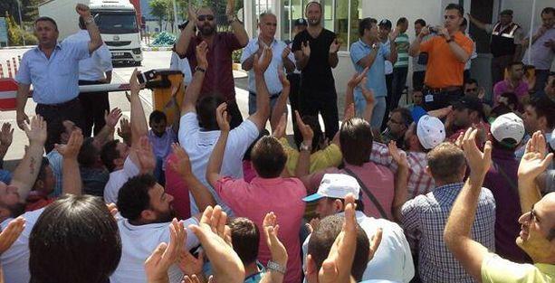 Şişecam işçilerinin grevi 6. gününde