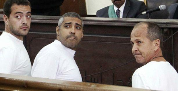 Sisi: Keşke El Cezire çalışanları yargılanmasaydı