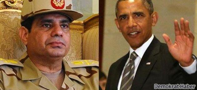 Sisi: Obama beni yarı yolda bıraktı