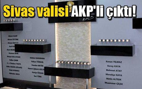 Sivas anmasını yasaklayan vali AKP'li çıktı