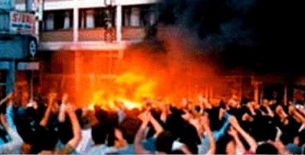 Sivas valisinden Madımak'ta gösterici savunması: Bağrınıza basın!