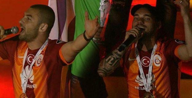 Sneijder: 'Fener ağlamaaa'