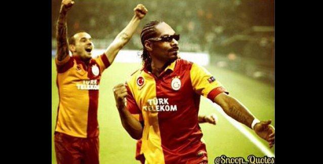 Snoop Dogg, photoshop'la kendini Galatasaraylı yaptı, o fotoğrafı paylaştı