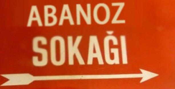 Sokağın ismi 'müstehcen' diye değiştirildi