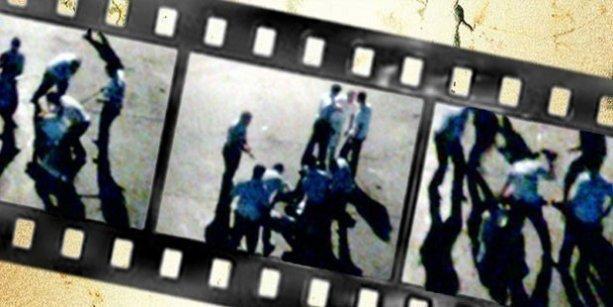 Sokak ortasında asker döven polislerin cezası belli oldu