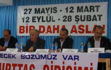 Söke yeni anayasayı tartıştı