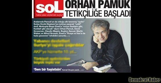 Sol, Orhan Pamuk'un eline silah verdi!