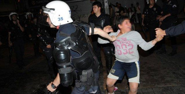 Soma faciasını protesto ederken gözaltına alınan çocuk için karar verildi