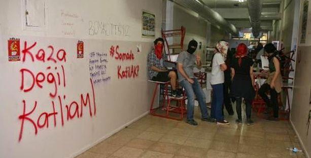 Soma için işgal eylemi yapan 38 öğrenciye 22 yıla kadar hapis istemi