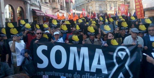 Soma katliamı İstanbul'da anılıyor
