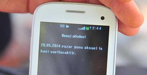 'Soma'da dayıbaşılar işçileri SMS'le madene çağırıyor'