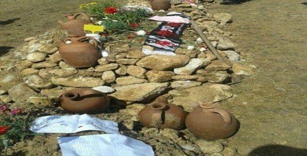Soma'da mezarlıklarda dağıtılan bildiriye tepkiler büyüyor