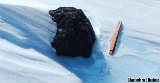 Son 25 yılın en büyük meteor parçası