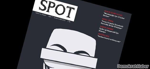 SPOT dergisinin yedinci sayısı çıktı