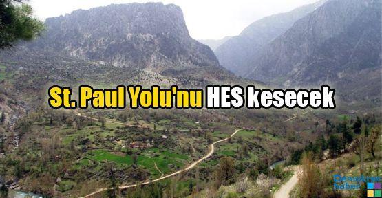 St. Paul Yolu'nu HES kesecek