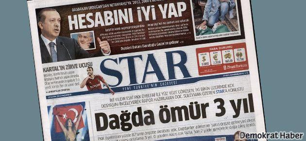 Star Gazetesi Halkbank'ın parasını çok sevmiş