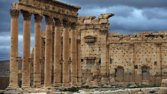 Suriye'deki antik Palmyra IŞİD tehdidi altında
