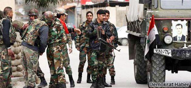 Suriye ordusu stratejik kentte